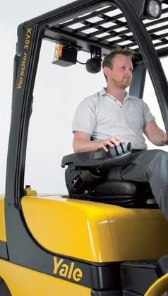 Yale GP20-35VX ergonomia