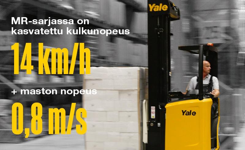 Yale-MR10-14E nopeus